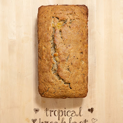 Tropical Breakfast Cake (Vegan)
