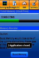 Screenshot of Memory Booster LifeTime FREE