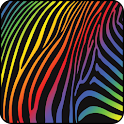 Colorful Zebra Live Wallpaper