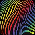 Colorful Zebra Live Wallpaper icon