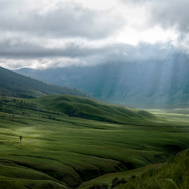 curtain of God by Mpu Gimblond - Landscapes Mountains & Hills ( #landscape,  )