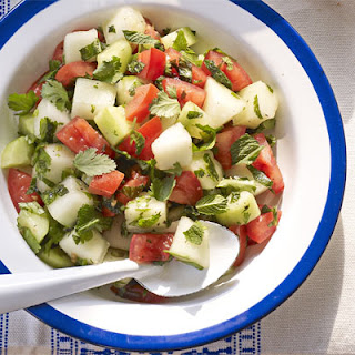 Melon Salad With Mint Sauce Recipes