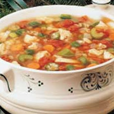 Zesty Turkey Soup