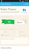 Screenshot of SitOrSquat: Restroom Finder