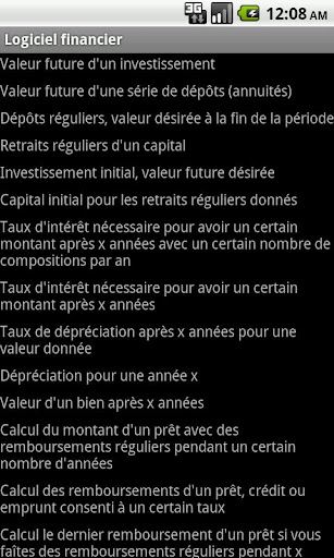 Logiciel financier