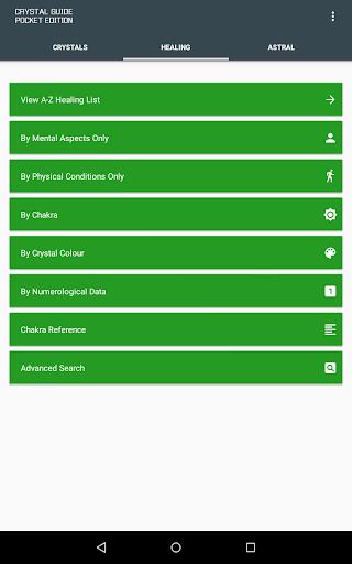 Crystal Guide Pocket Edition - screenshot