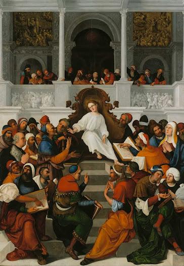 Mazzolino Lodovico, Cristo in tempio