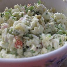 Georgian Egg Salad (azelila) (low Carb)