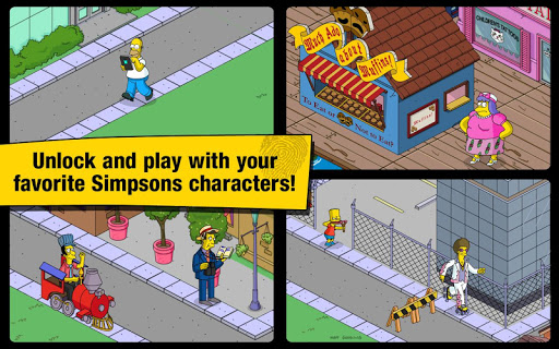 The Simpsons: Tapped Out - screenshot