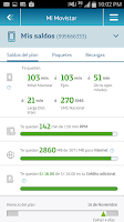 Screenshot of Mi Movistar