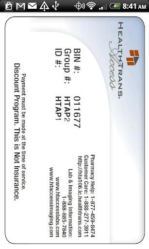 HTAccess Rx Discount Card