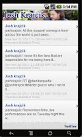 Screenshot of Josh Krajcik!