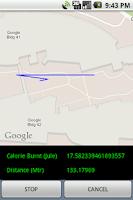 Screenshot of Calorie Calculator