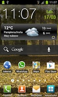 Screenshot of Euskalmeteo