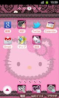 Screenshot of HELLO KITTY Theme17