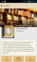 Screenshot of Thumbstory