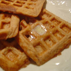 Whole-Wheat Cinnamon Waffles