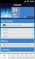 Screenshot of O2 Priority Tickets