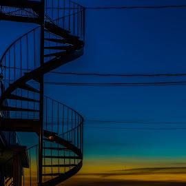 Escalier by Bertrand Lavoie - Buildings & Architecture Architectural Detail ( escalier )
