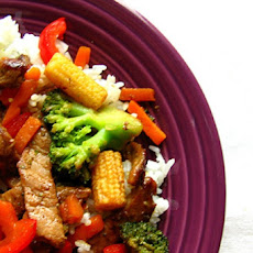 Beef and Broccoli With Carrot & Onion Stir Fry