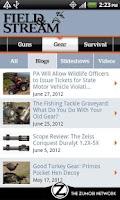Screenshot of Field & Stream Online