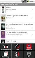Screenshot of Furet du Nord eBook