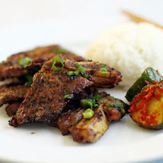 Beef Short Ribs with Asian Flavors
