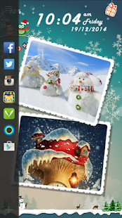 Christmas DIY Locker Theme - screenshot
