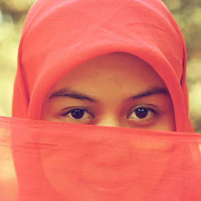 Ira by Rully Kustiwa - People Portraits of Women ( red, girl, female, eyes,  )