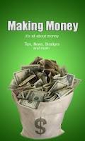 Screenshot of making money