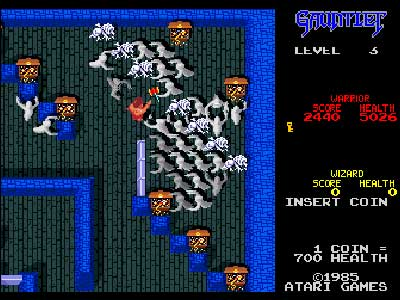 Gauntlet Twitch channel to be inaugurated with a stream of the entirety of the NES original Gauntlet