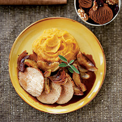 Caramelized Pork Loin with Apples