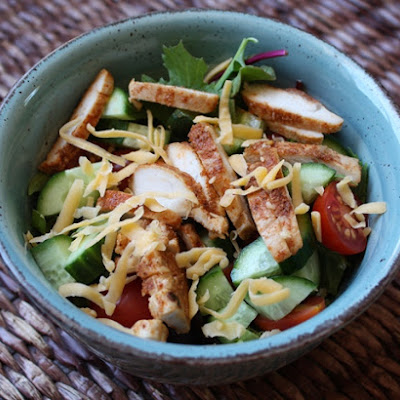 Spicy Honey Chicken Salad
