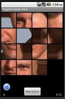 Screenshot of Taquin Funny Face