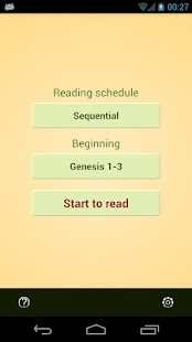 Bible Reading Schedule