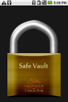 Screenshot of Safe Vault