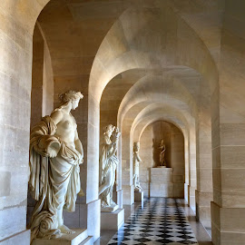 Halls of Versailles by Ludwig Wagner - Instagram & Mobile iPhone