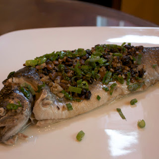 Chinese Steamed Trout With Fermented Black Beans
