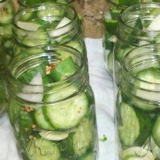 Small-Batch Refrigerator Dill Pickles