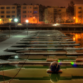 Ice by Bojan Bilas - City,  Street & Park  Neighborhoods ( prime lens, hdr, neighborhood, long exposure, night, city )
