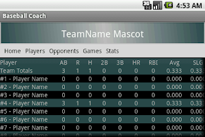 Screenshot of Baseball Coach - Free