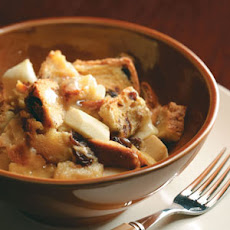 Apple-Raisin Bread Pudding Recipe