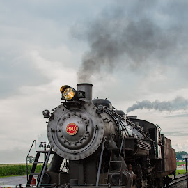 Engine 90 by John Klos - Transportation Trains ( canon, strasburg, tamron sp af17-50mm f/2.8 xr di ii vc ld aspherical, strasburg rr, locomotive, 90, pennsylvania, john klos, canon 7d, steam, land, device, transportation )