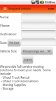 Screenshot of U-Haul - Beamer Street Storage
