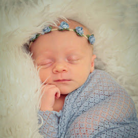 Princess Sleeping  by Ann Milham - Babies & Children Babies (  )