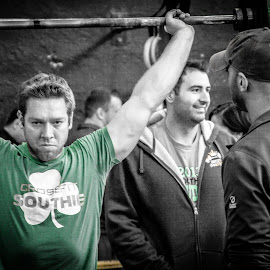 Crossfit throwdown in South Boston by Alan Scherer - Sports & Fitness Fitness ( alan scherer photography, weight lifting, fitness, crossfit southie, crossfit, lifting )