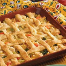Lattice Chicken Potpie