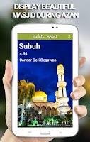 Screenshot of Waktu Solat Brunei