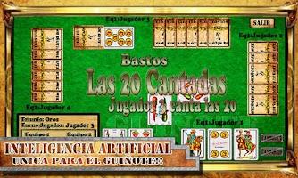 Screenshot of Cards Game Guinote