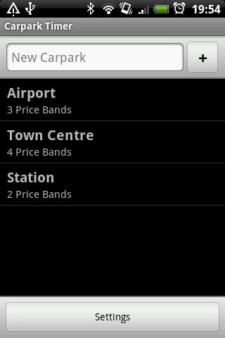 Carpark Timer